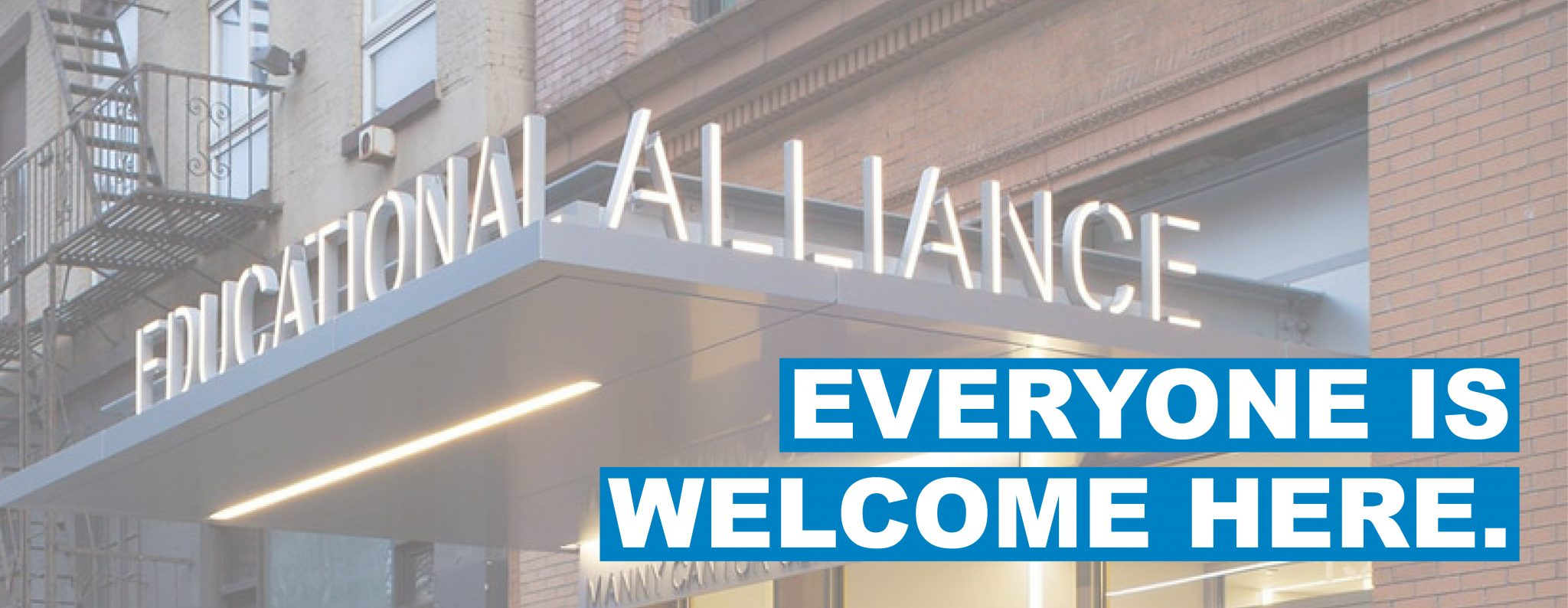 Educational Alliance | Everyone is welcome here