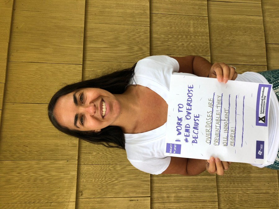 October Newsletter: Sela, Prevention and Wellness Coordinator, and the Project HELP Team